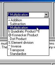 BGIM : Matrices